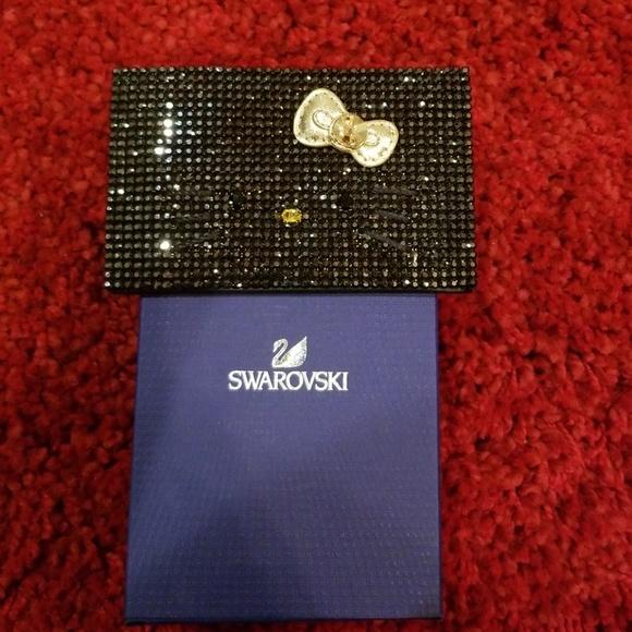 582e6e032 Hello Kitty Swarovski Card Holder. M_5b79bd826a0bb742f1819fe1